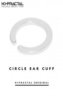 H>FRACTAL ORIGINAL CIRCLE EAR CUFF(SILVER) エイチフラクタル サークルイヤーカフ