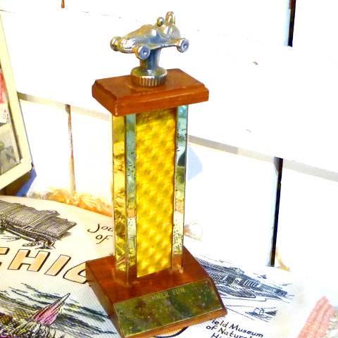 '65 Car Race Trophy
