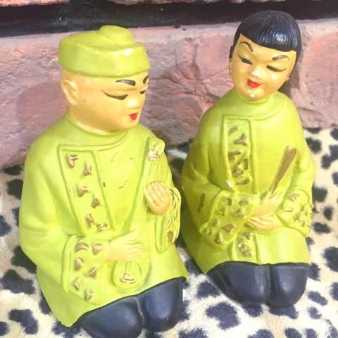 Oriental Doll Pair