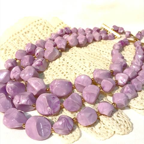 """Coro"" Lavender Necklace"