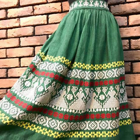 Green Guatemala Skirt