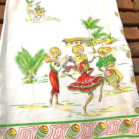 Mexican Hand Painted Dress