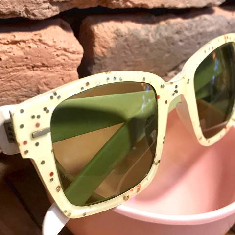 Lucite Confetti Glasses