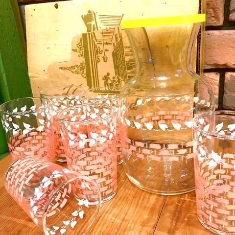 """FEDERAL"" Decanter & Glass Set"