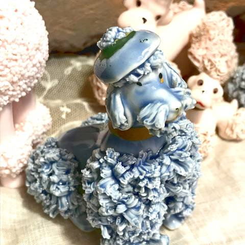 Blue Poodle Decor