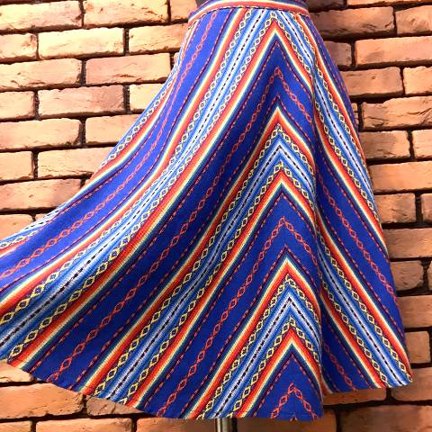 Mexican Blanket Skirt