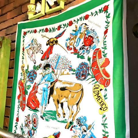 MEXICO Souvenir Scarf