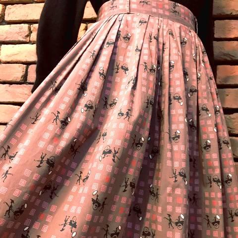 Oriental Pattern Skirt