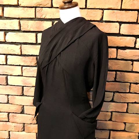 Black 3/4sleeve Dress