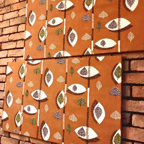 Fabric Panel Pair