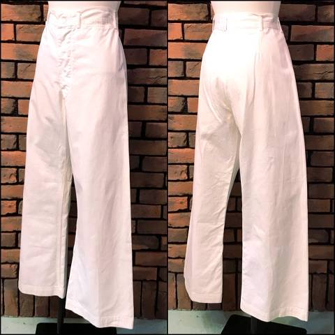 White Sailor Pants
