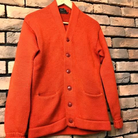 """""""TROJAN"""" Wool Knit Cardigan"""