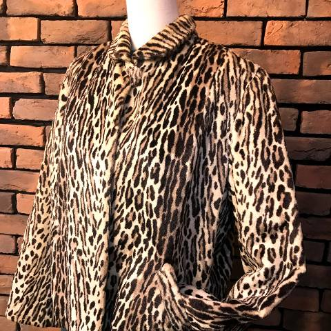 Leopard Fur Jacket