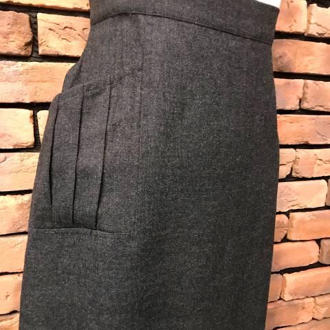 Rayon Designed Pencil Skirt