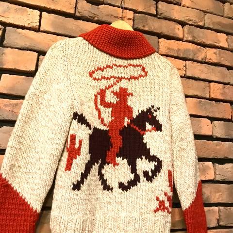 """Doris Lohry"" Cowboy Cowichan Sweater"