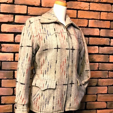 """Wether Wise"" Flecked Wool Jacket"