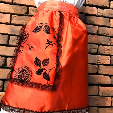 Black Lace, Red Apron