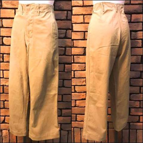 40's U.S.M.C Buttonfly Chino