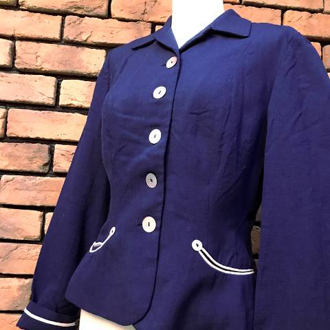 """Bobbie Brooks"" Navy Jacket"