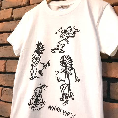<img class='new_mark_img1' src='https://img.shop-pro.jp/img/new/icons26.gif' style='border:none;display:inline;margin:0px;padding:0px;width:auto;' />Indian Tee-Shirt (Vanilla White)