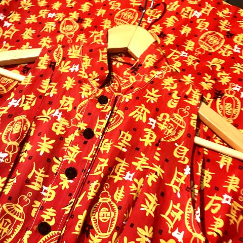<img class='new_mark_img1' src='//img.shop-pro.jp/img/new/icons13.gif' style='border:none;display:inline;margin:0px;padding:0px;width:auto;' />Oriental Pattern Cotton Dress