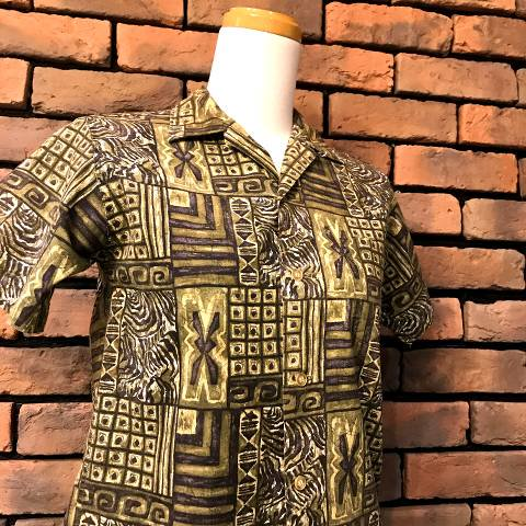 "<img class='new_mark_img1' src='//img.shop-pro.jp/img/new/icons13.gif' style='border:none;display:inline;margin:0px;padding:0px;width:auto;' />""McGREGOR"" Cotton Hawaiian Shirt"