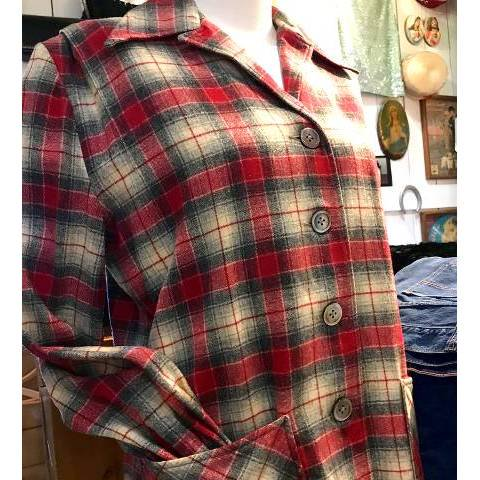 <img class='new_mark_img1' src='https://img.shop-pro.jp/img/new/icons13.gif' style='border:none;display:inline;margin:0px;padding:0px;width:auto;' />Red Plaid LEVIS 49er Jacket