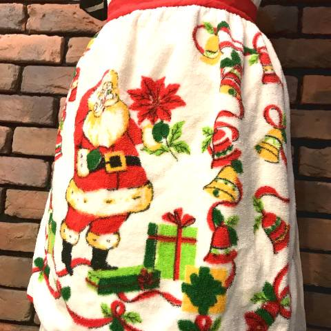 <img class='new_mark_img1' src='https://img.shop-pro.jp/img/new/icons13.gif' style='border:none;display:inline;margin:0px;padding:0px;width:auto;' />Santa Claus Pile Apron