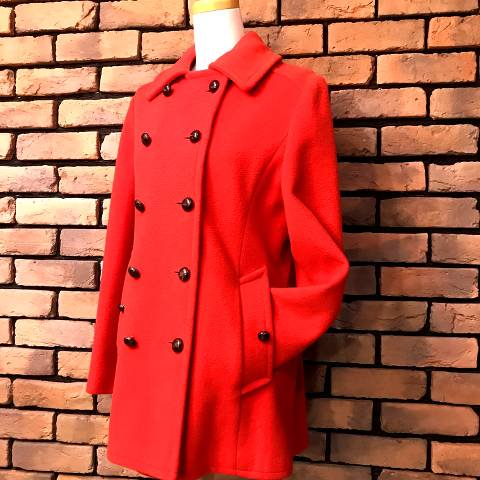 "<img class='new_mark_img1' src='https://img.shop-pro.jp/img/new/icons13.gif' style='border:none;display:inline;margin:0px;padding:0px;width:auto;' />""MACKINTOSH"" Red PeaCoat"