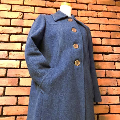 "<img class='new_mark_img1' src='https://img.shop-pro.jp/img/new/icons13.gif' style='border:none;display:inline;margin:0px;padding:0px;width:auto;' />""The Crescent"" Shagmoor Wool Coat"