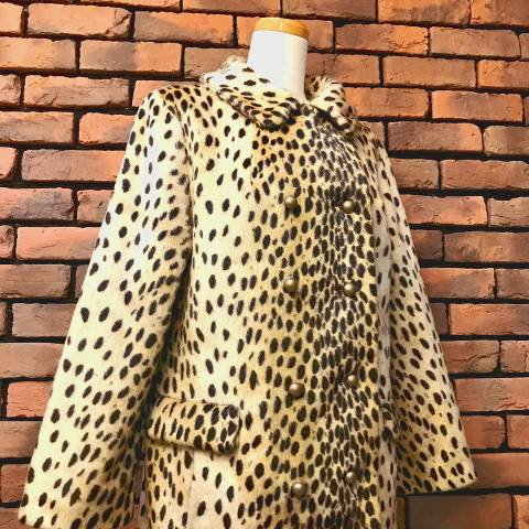 "<img class='new_mark_img1' src='https://img.shop-pro.jp/img/new/icons13.gif' style='border:none;display:inline;margin:0px;padding:0px;width:auto;' />""Safari Fairmoor"" Leopard Fur Coat"