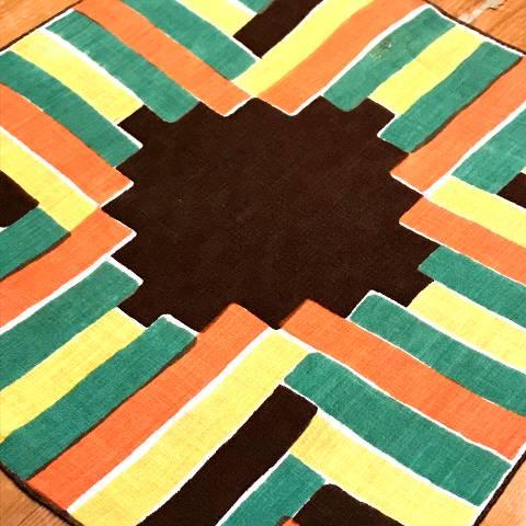 Geometric Pattern Hankie