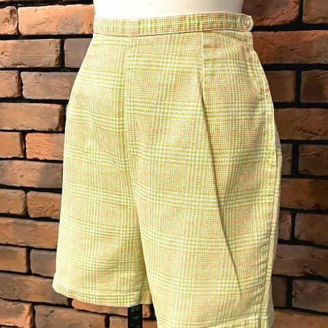 Hight Waist Side Zipper Short Pants
