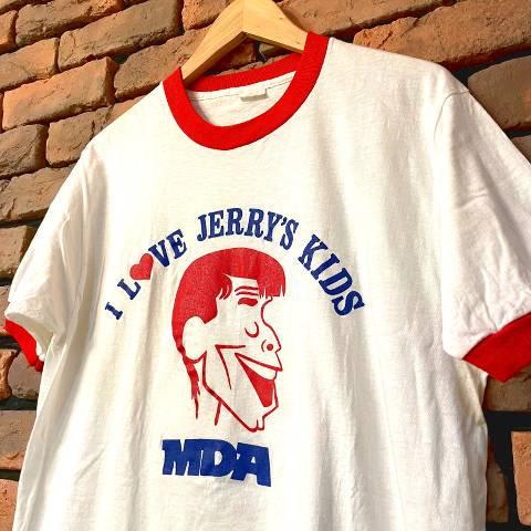 """MDA Jerry Lewis"" Ringer Tee"