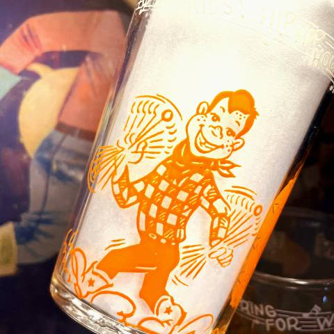 <img class='new_mark_img1' src='https://img.shop-pro.jp/img/new/icons13.gif' style='border:none;display:inline;margin:0px;padding:0px;width:auto;' />HOWDY DOODY Welch's Jelly Glass