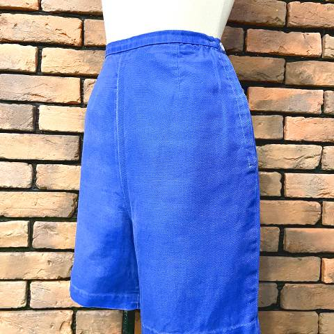 """Joyce Lane"" Side Zipper Short Pants"