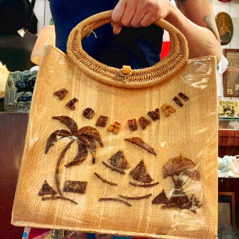 <img class='new_mark_img1' src='https://img.shop-pro.jp/img/new/icons13.gif' style='border:none;display:inline;margin:0px;padding:0px;width:auto;' />Hawaiian Straw & Coconut Purse