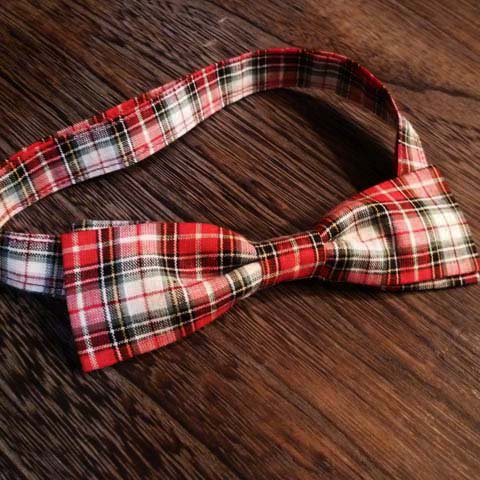 Bow-Tie (60's Fabric/Check)