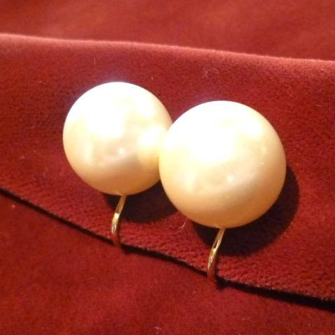 Pearl Beaded Earrings