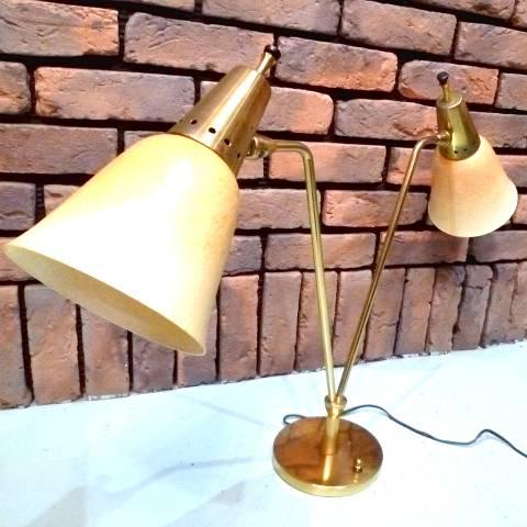 Fiberglass Shade Lamp