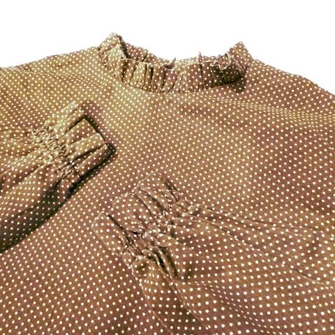 Brown Dot Shirt