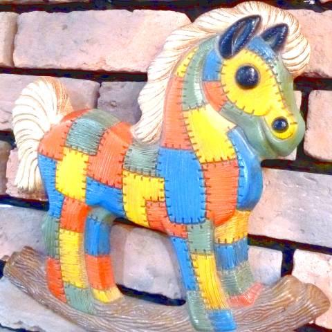 Rocking Horse Wall Deco