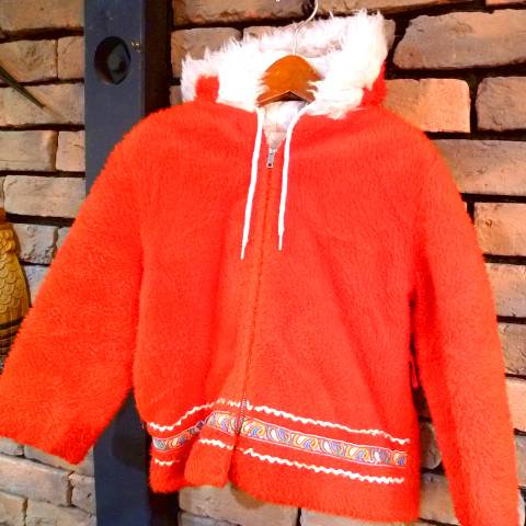 Red Eskimo Coat