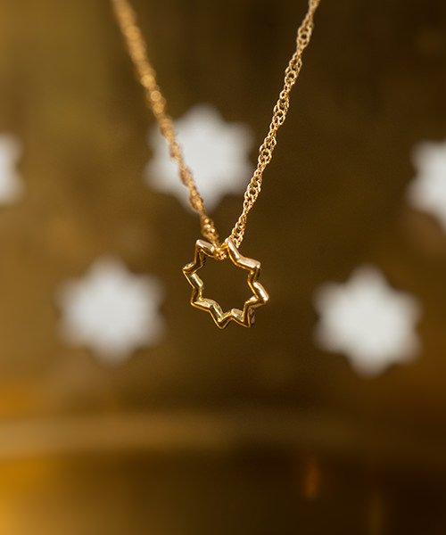 ヘネラリーフェ2 ハマムの星ネックレス