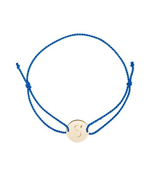 K18YG Cord Bracelet Round for baby(受注生産)