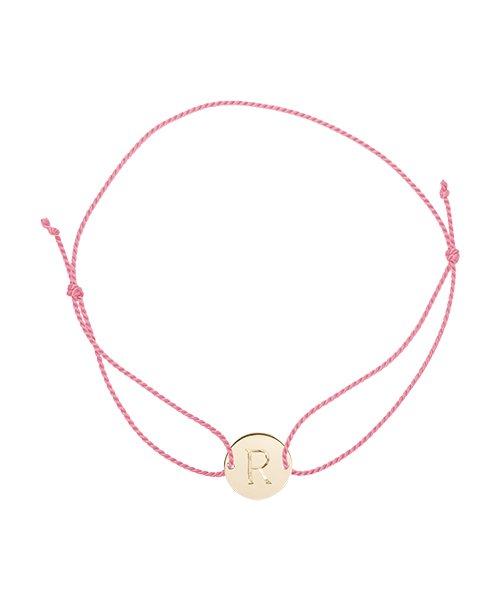 K18YG Cord Bracelet Round for MOM(受注生産)