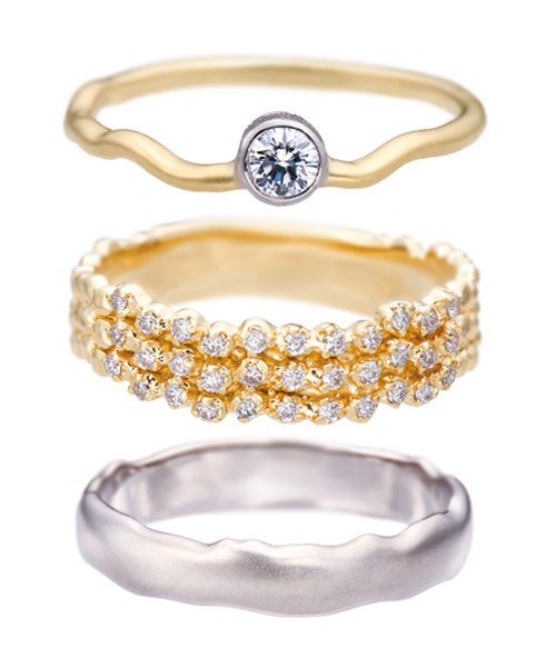 Marriage&Engagement Ring / Gran Flow