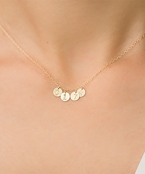 Com Letter Necklace チャームタイプ4