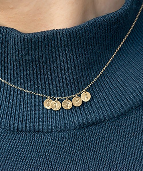 Com Letter Necklace チャームタイプ5