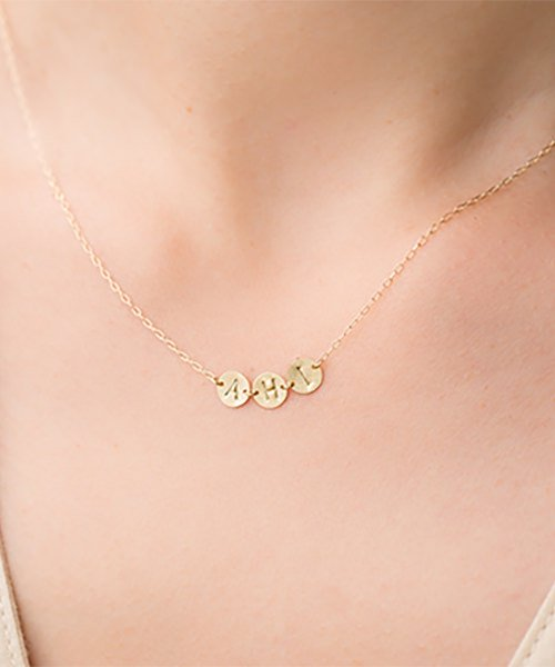Com Letter Necklace リレータイプ3